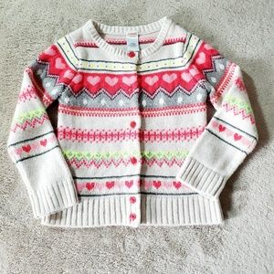 Gymboree Button Down Chunky Cardigan Fall Sweater